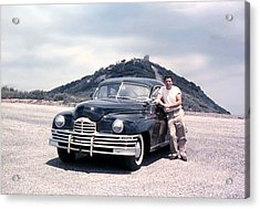 Lynn And His Packard Acrylic Print