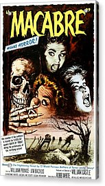 Macabre, 1958 Acrylic Print by Everett