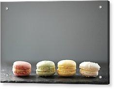 Macarons Acrylic Print by Shawna Lemay