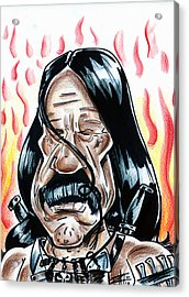 Machete Acrylic Print by Big Mike Roate