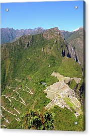 Machu Picchu Acrylic Print by Cute Kitten Images