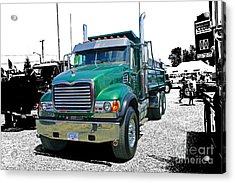 Mack Abstract Acrylic Print by Randy Harris