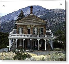 Mackay Mansion Acrylic Print