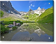 Madautal At Lechtaler Alpen Acrylic Print by @Michi B.