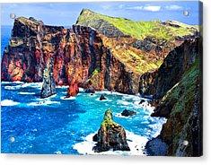 Acrylic Print featuring the photograph Madera Bay by Rick Bragan