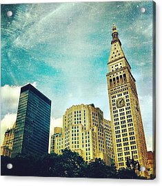 Madison Square Park. #nyc #manhattan Acrylic Print
