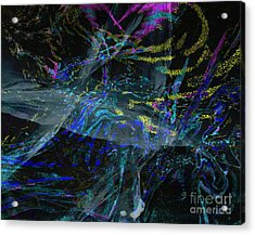 Madness -dizziness In The Source - Source Vertigineuse Acrylic Print