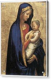 Madonna Casini Acrylic Print by Tommaso Macassio