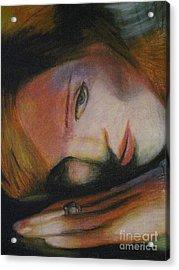 Madonna Acrylic Print by Dwayne Goulbourne