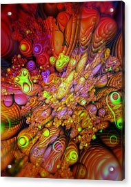 Maelstrom Of Emotion Acrylic Print by Mimulux patricia no No