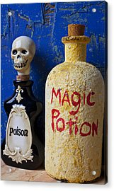 Magic Potion Acrylic Print by Garry Gay