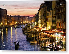 Magic Venice Acrylic Print by Francesco Riccardo  Iacomino
