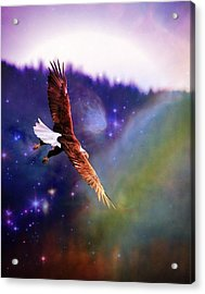 Magical Moment 2 Acrylic Print by Carrie OBrien Sibley