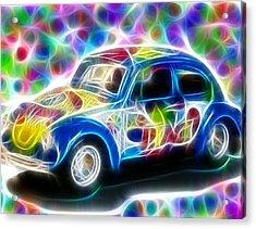 Magical Peace Bug Acrylic Print