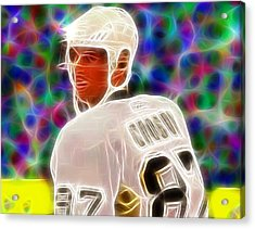 Magical Sidney Crosby Acrylic Print by Paul Van Scott