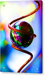 Magical Sphere Acrylic Print