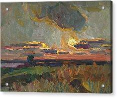Magical World Of Sunset Acrylic Print