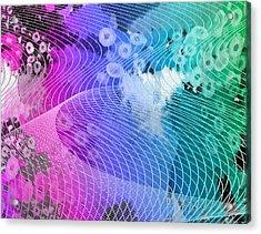 Magnification 6 Acrylic Print by Angelina Vick