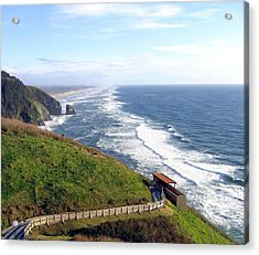 Magnificent Oregon Coast Acrylic Print by Will Borden