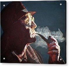 Maigret Acrylic Print by Michael Haslam