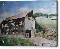 Mailpouch Acrylic Print by David Ignaszewski