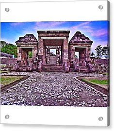 Main Gate The First Of Three Terraces Acrylic Print