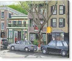 main st so Piermont NY Acrylic Print