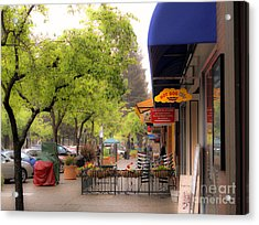 Acrylic Print featuring the photograph Main Street by Leslie Hunziker