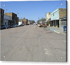 Main Street Acrylic Print by Steve Sperry