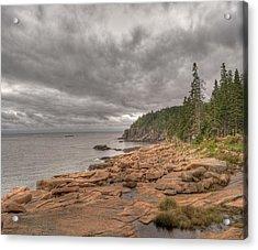 Maine Coastline. Acadia National Park Acrylic Print by Juli Scalzi