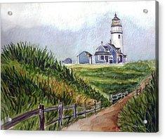 Maine Light Acrylic Print