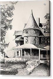 Majestic Place In Kensington Maryland Acrylic Print by Toni Tiu