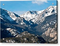 Majestic Rockies Acrylic Print by Colleen Coccia