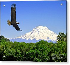 Acrylic Print featuring the photograph Majesty by Jack Moskovita