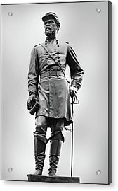 Major General John Reynolds Statue At Gettysburg Acrylic Print by Randy Steele
