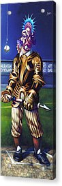 Major League Gladiator Acrylic Print by Patrick Anthony Pierson
