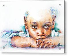 Make A Wish Acrylic Print by Stephie Butler