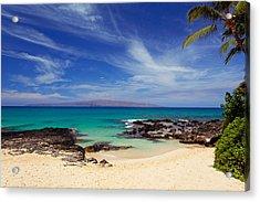 Makena Cove Maui Acrylic Print