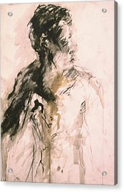 Male Portrait 3 Acrylic Print