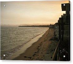 Malibu Acrylic Print by Kim Aberle
