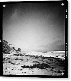 Acrylic Print featuring the photograph Malibu Peace And Tranquility by Nina Prommer