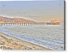 Malibu Pier North Acrylic Print