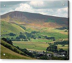 Mam Tor - Derbyshire Acrylic Print by Graham Taylor
