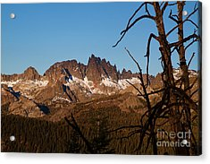 Mammoth Mountain California And Devils Postpile National Monument With Spires Acrylic Print by ELITE IMAGE photography By Chad McDermott