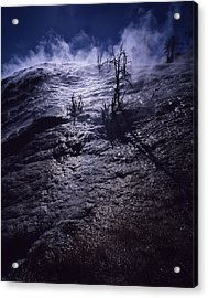 Acrylic Print featuring the photograph Mammoth Steam by J L Woody Wooden
