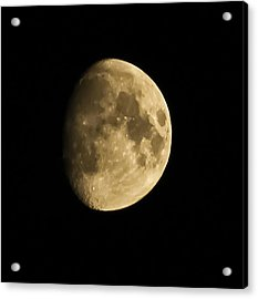 Man In The Moon Acrylic Print by Joshua Dwyer