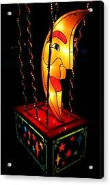Man In The Moon Lantern Acrylic Print by Greg Matchick