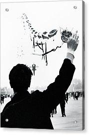 Man With A Kite Acrylic Print