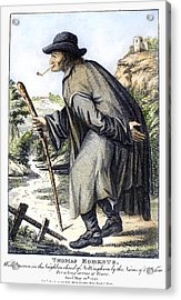 Man With Cane, C1795 Acrylic Print by Granger