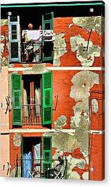 Manarola Apartment Acrylic Print